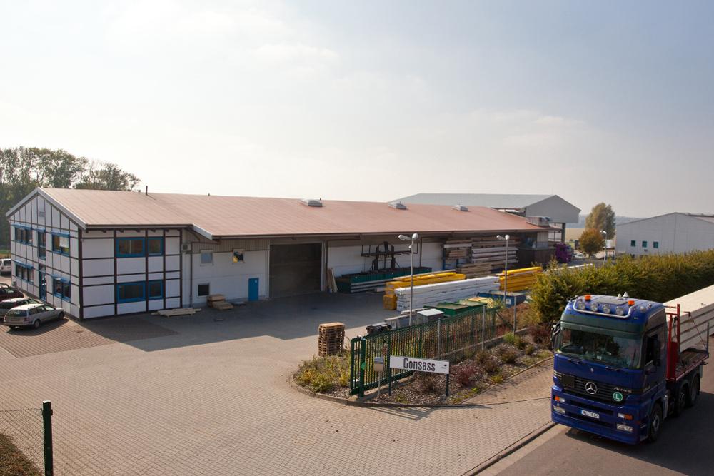 Consass Firmensitz in Kohren-Sahlis