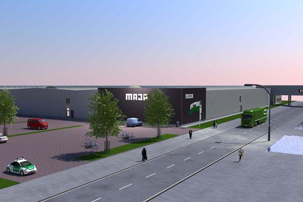 MAJA-Möbelwerk Lagerhaus