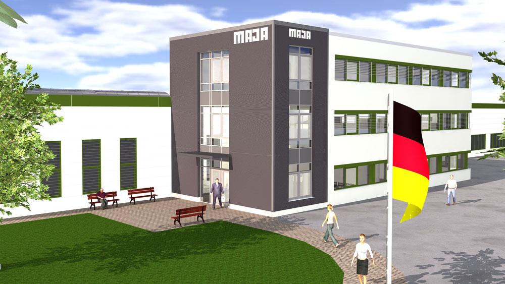 MAJA-Möbelwerk Wittichenau Planung