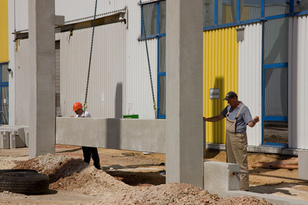 Bauarbeiten CCL Meerane