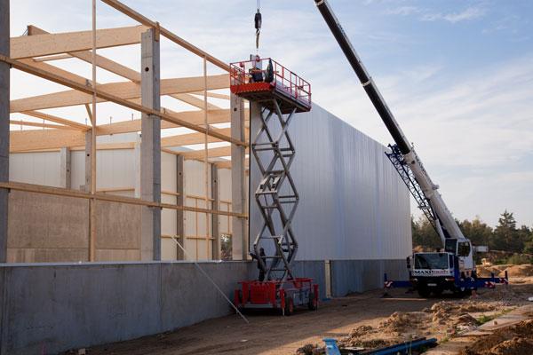 Bauarbeiten HIT Torgau