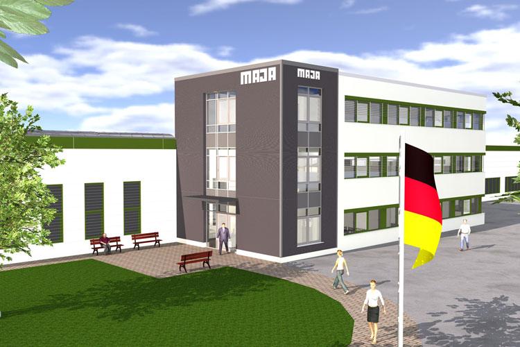 Planung MAJA Wittichenau Bürogebäude